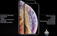 apple chinh thuc ra mat bo doi iphone xs va xs max 65 inch