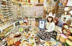 Choáng với bộ sưu tập 'mô hình đồ ăn nhựa' lớn nhất thế giới của cô gái Nhật Bản