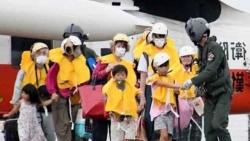 Nhật Bản: Hàng trăm nghìn người phải sơ tán do bão Haishen
