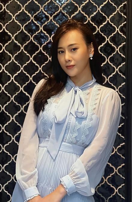 Diện mạo xinh đẹp của Phương Oanh khi tăng cân vào vai Nam phim Hương vị tình thân