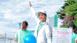 Hoa hậu H'Hen Niê sử dụng trang thông tin cá nhân vận động sống 'xanh', bảo vệ tầng Ozone