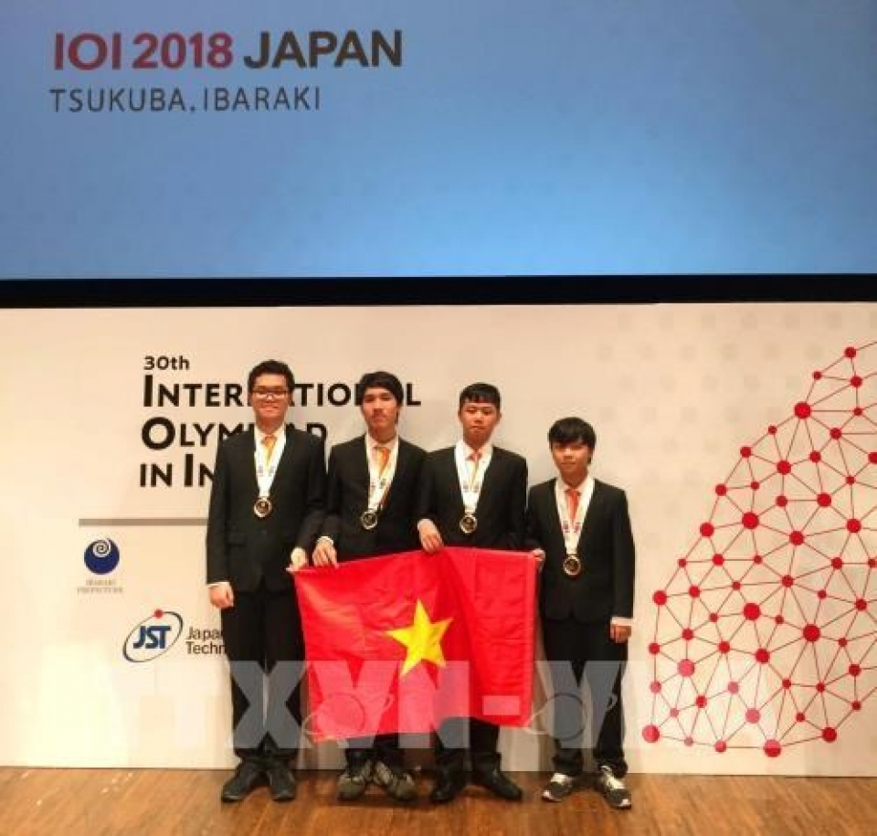 vietnamese students win four medals at intl olympiad in informatics
