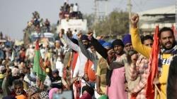 Căng thẳng vì nông dân biểu tình, Ấn Độ tăng cường an ninh tại thủ đô New Delhi