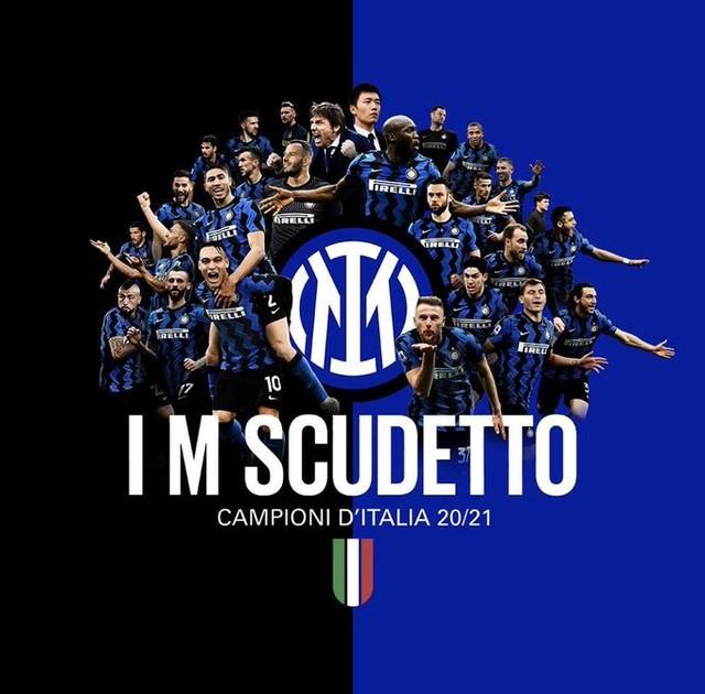 Inter Milan chính thức vô địch Serie A sau 11 năm. Đây là chức vô địch thứ 19 trong lịch sử CLB.