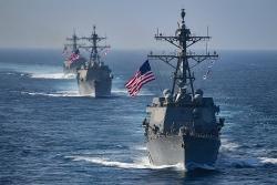 Mỹ sắp ra tuyên bố về Biển Đông giữa lúc căng thẳng leo thang