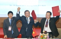 joint projects in clv development triangle area to be promoted