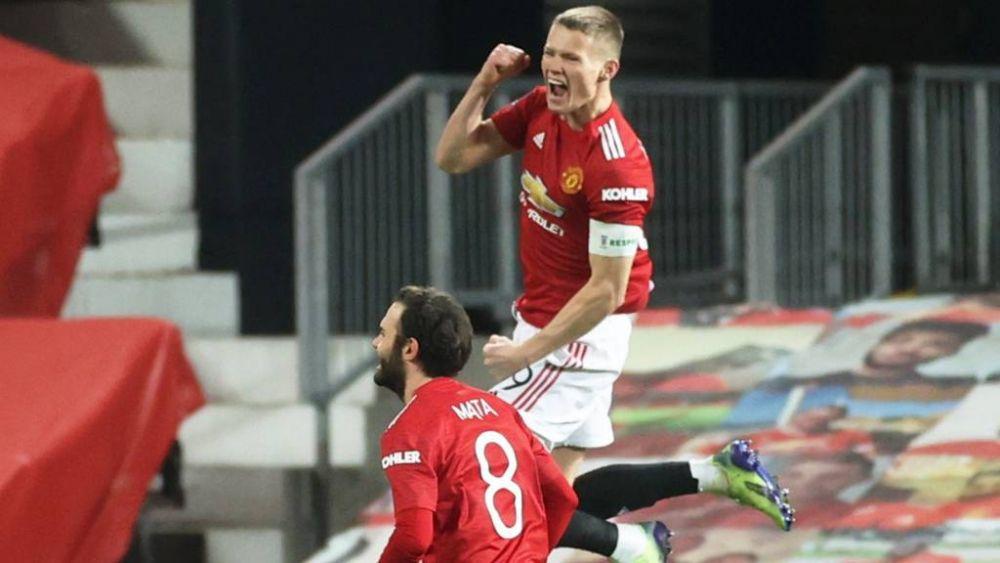 McTominay ghi bàn duy nhất trong trận đấu M.U vs Watford tại vòng 3 FA Cup (nguồn