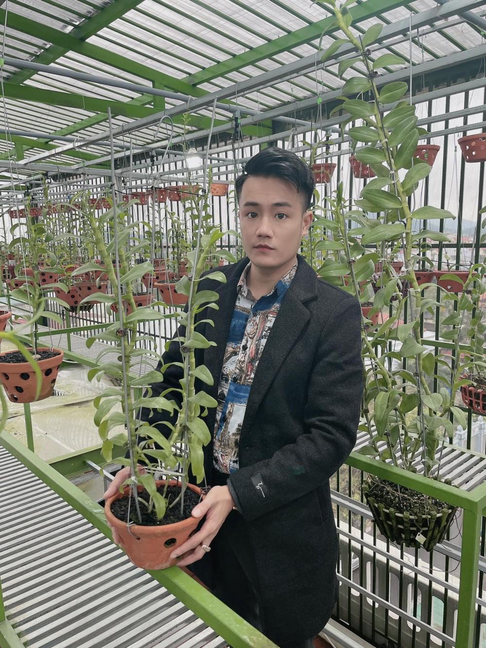 Trần Ngọc Thành: Chàng trai Huế sở hữu vườn lan giá trị