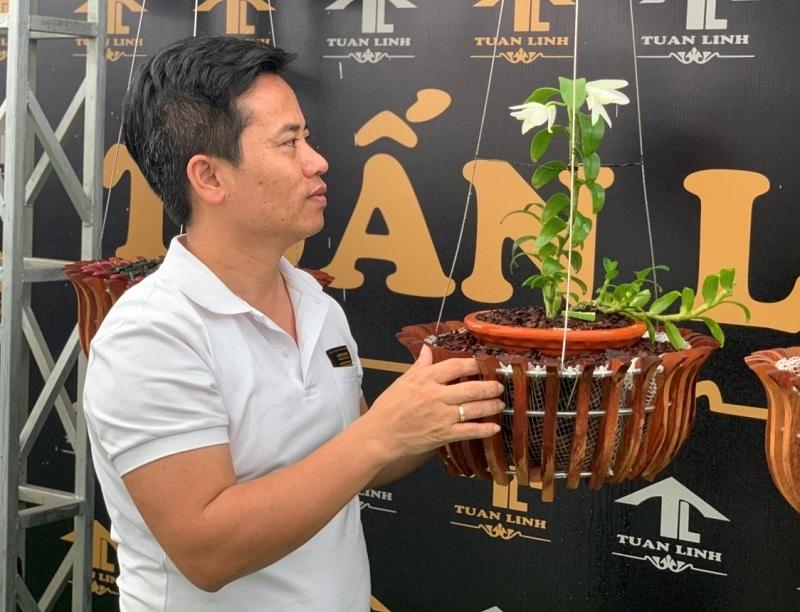 Những giỏ lan tuyệt đẹp của ông chủ Nguyễn Hữu Tuấn.