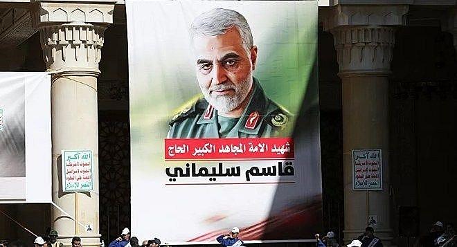 Ảnh của Tướng Soleimani trên đường phố Tehran, Iran. (Nguồn Reuters)