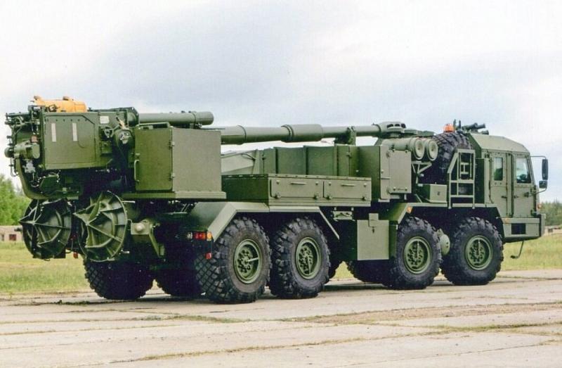 Nga thử nghiệm đạn pháo tự hành có điều khiển mới và sử dụng robot công binh