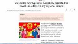 Truyền thông Ấn Độ: Công tác bầu cử đại biểu Quốc hội tại Việt Nam được tổ chức chuyên nghiệp