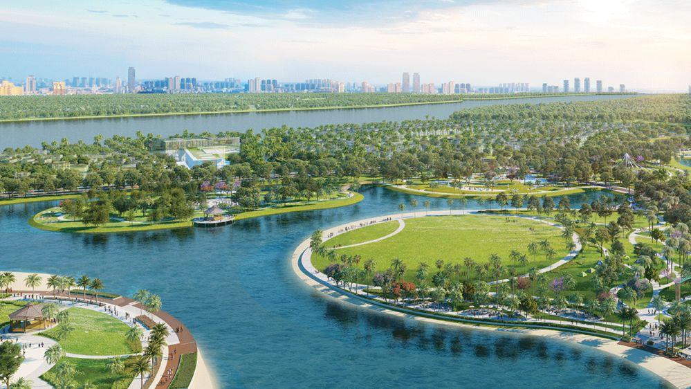 Bất động sản Vinhomes Grand Park hút khách nhờ mảng xanh 'khủng'