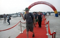 quang tri province welcomes cruise of foreign tourists
