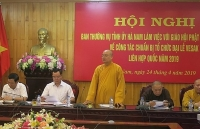 ha nam hastens preparations for un vesak day celebration