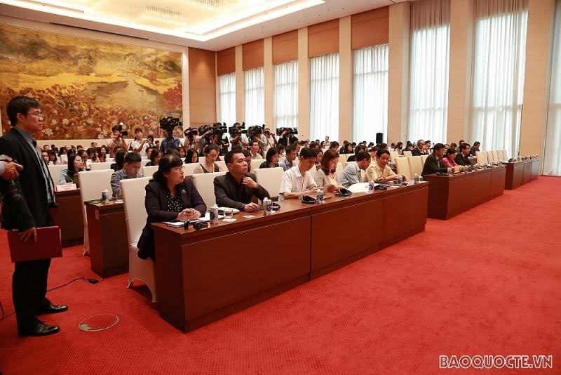Họp báo công bố kết quả kỳ họp thứ 11, Quốc hội khóa XIV