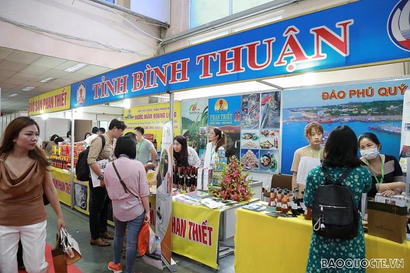 Hình ảnh khai mạc Vietnam Expo 2021 tại Hà Nội