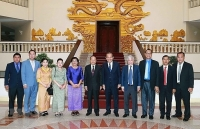 Deputy PM receives Cambodian religion minister