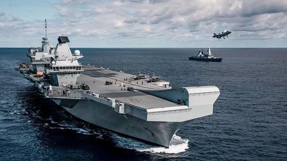 Tàu sân bay HMS Queen Elizabeth mở ra kỷ nguyên mới của không quân Anh ở châu Á-Thái Bình Dương