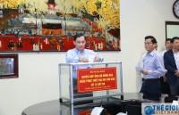 Bộ Ngoại giao quyên góp ủng hộ đồng bào các tỉnh khắc phục hậu quả thiên tai