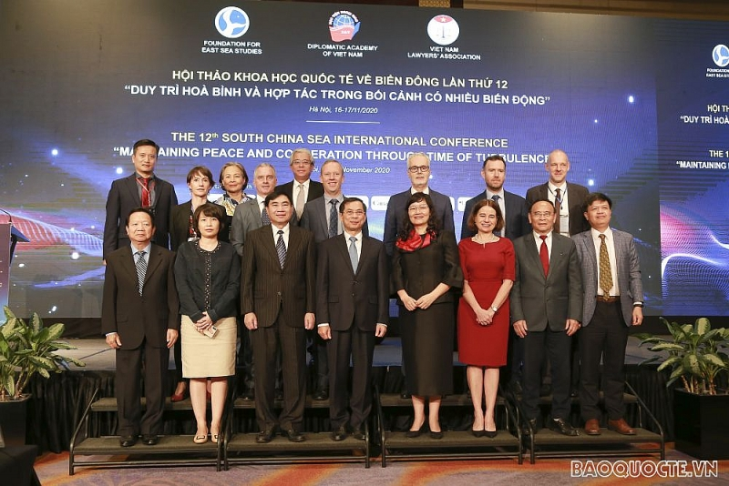 """Hội thảo quốc tế về Biển Đông lần thứ 12: """"Duy trì Hoà bình và Hợp tác trong bối cảnh có nhiều biến động"""""""