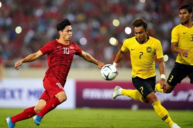 Đội trưởng tuyển Malaysia Aidil Zafuan (7) tiết lộ Malaysia nghiên cứu rất kỹ đội tuyển Việt Nam.