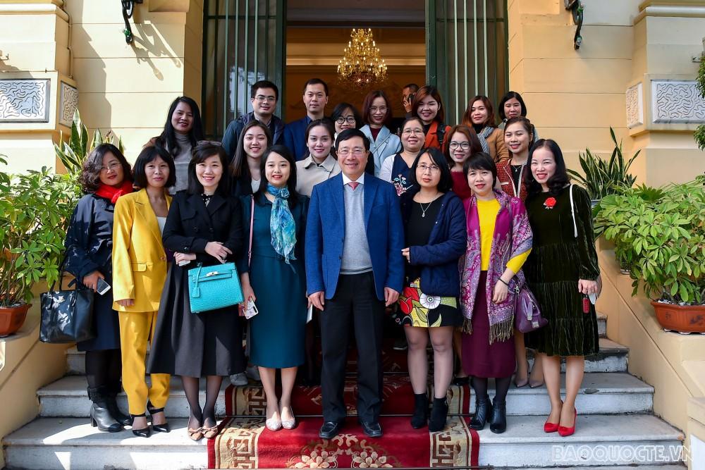 Phó Thủ tướng Phạm Bình Minh: Báo chí góp phần lan tỏa thành tựu đối ngoại giữa đại dịch Covid-19