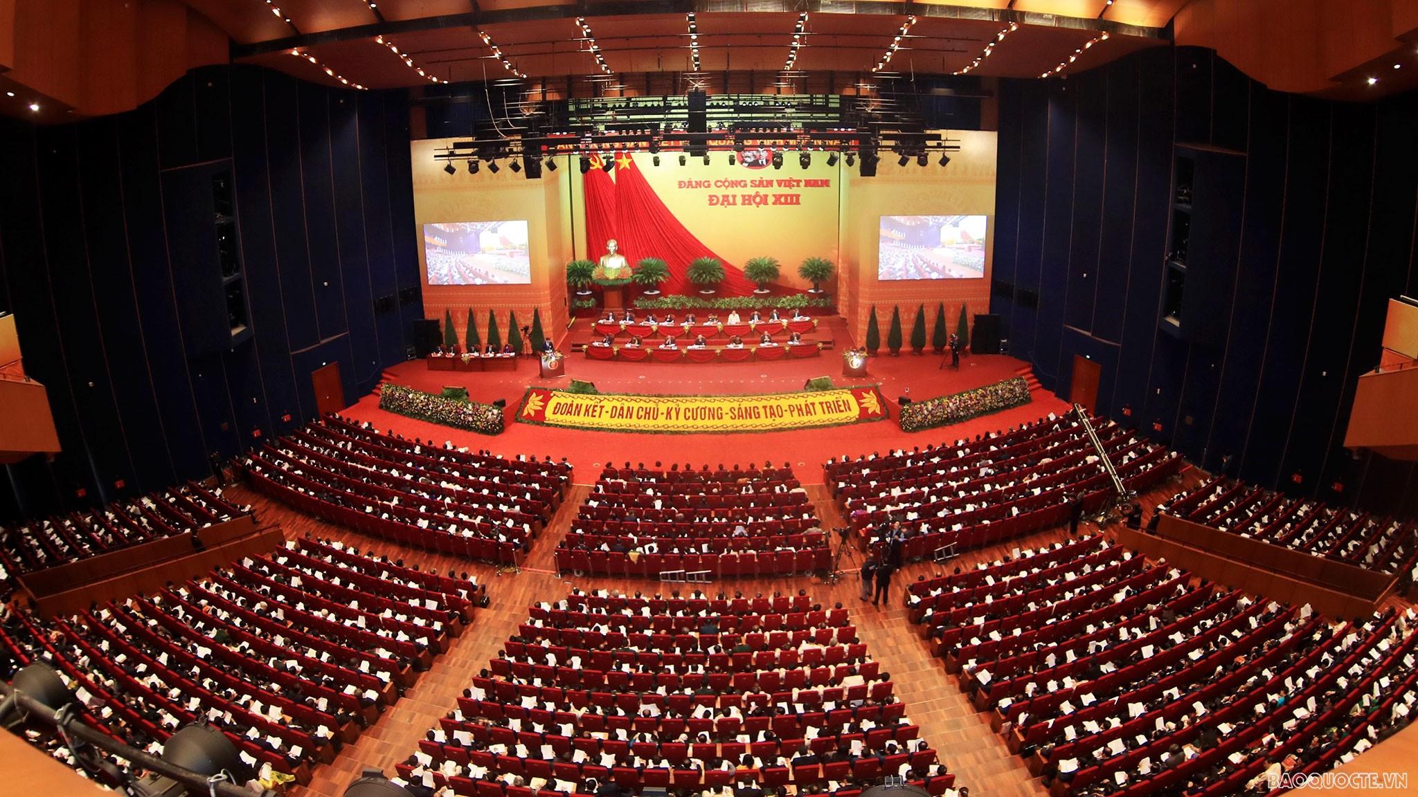 Hôm nay (28/1), Đại hội XIII nghe báo cáo về công tác nhân sự Ban Chấp hành Trung ương