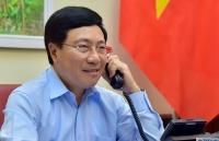 Covid-19: Phó Thủ tướng Phạm Bình Minh điện đàm với Bộ trưởng Ngoại giao và Hợp tác Quốc tế Italy