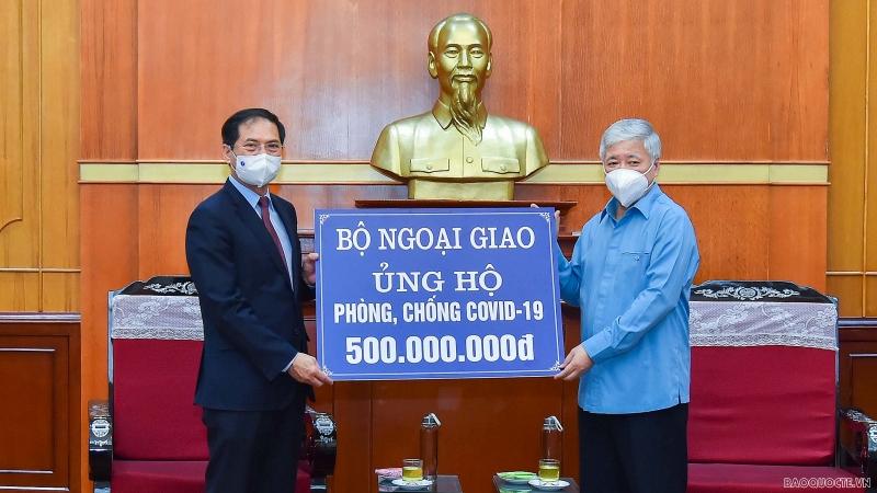 Ngoại giao trong tuần: Bộ Ngoại giao ủng hộ công tác phòng chống dịch Covid-19; Việt Nam chủ trì họp Nhóm Công tác của HĐBA; Diễn đàn ARF