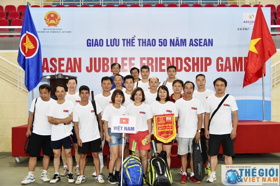 giao luu the thao ky niem 50 nam ngay thanh lap asean