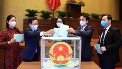 Quốc hội bầu bốn Phó Chủ tịch Quốc hội khóa XV