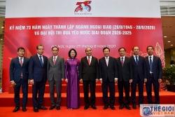 {Trực tuyến} Thủ tướng dự chương trình kỷ niệm 75 năm Ngày thành lập ngành Ngoại giao Việt Nam
