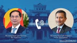 Đề nghị Singapore xem xét hỗ trợ hoặc chuyển nhượng lại vaccine Covid-19 dôi dư cho Việt Nam sớm nhất có thể