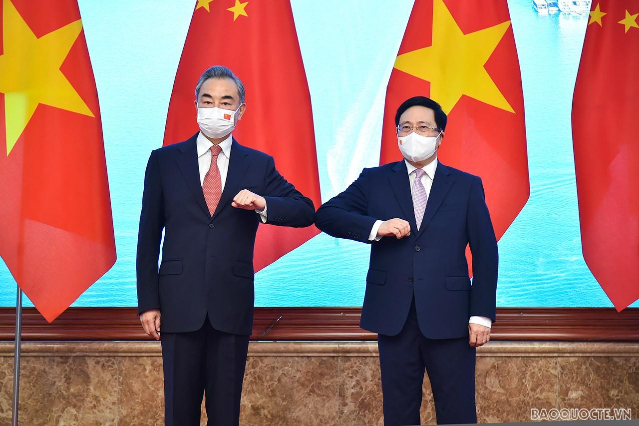 Mục đích chuyến thăm chính thức của Ủy viên Quốc vụ, Bộ trưởng Ngoại giao Trung Quốc Vương Nghị là thúc đẩy quan hệ hợp tác, đối tác chiến lược toàn diện Việt Nam-Trung Quốc tiếp tục phát triển, đạt được những thành tích mới, vì lợi ích của nhân dân hai n
