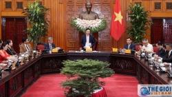 Phó Thủ tướng Phạm Bình Minh tiếp đoàn doanh nghiệp Hiệp hội phát triển hợp tác kinh tế Việt Nam - ASEAN