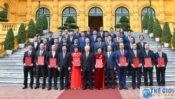 Toàn cảnh Tổng Bí thư, Chủ tịch nước tiếp các Đại sứ, Tổng Lãnh sự nhiệm kỳ 2020-2023
