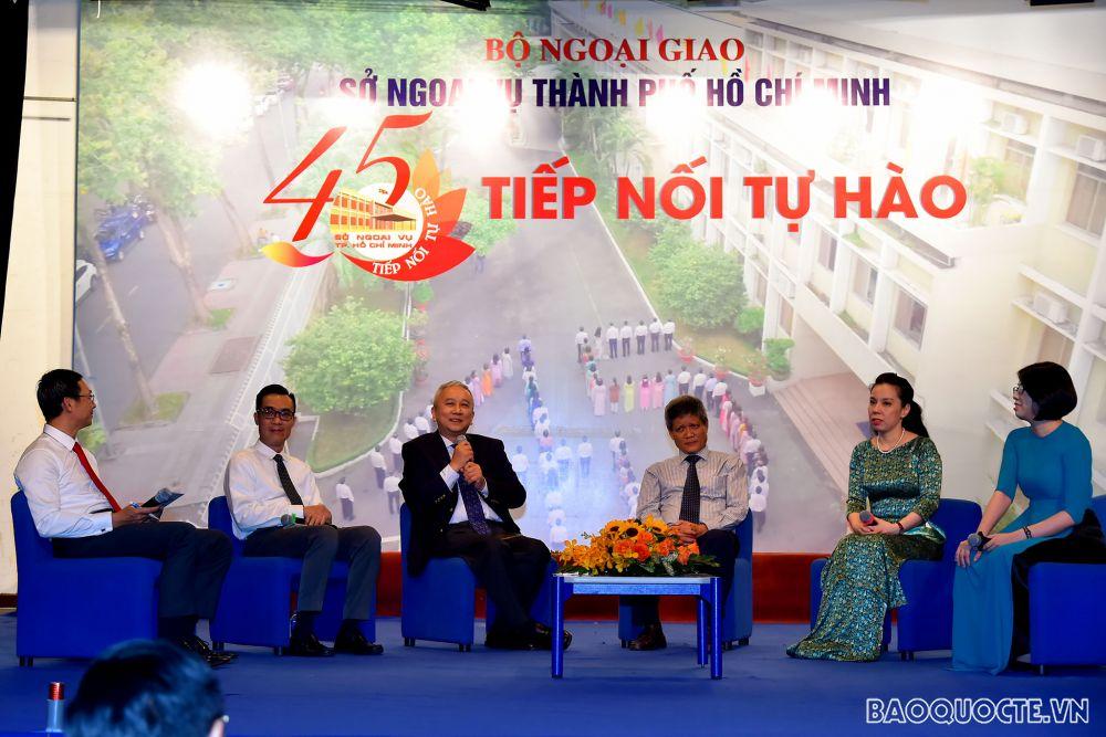 Phó Thủ tướng Phạm Bình Minh dự lễ kỷ niệm 45 năm thành lập Sở Ngoại vụ TP Hồ Chí Minh