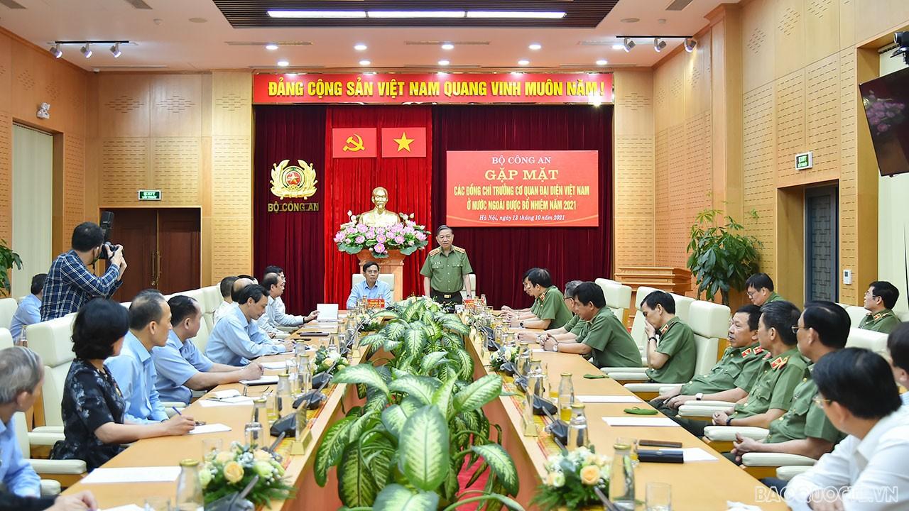 Bộ Công an và Bộ Ngoại giao phối hợp trong công tác đối ngoại của đất nước