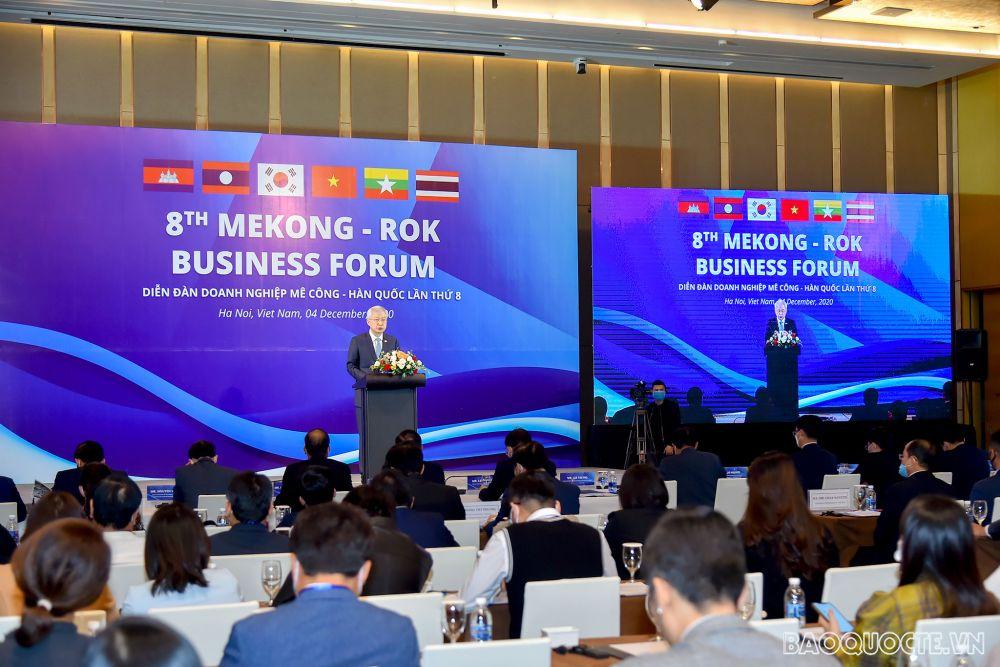 Khai mạc Diễn đàn Doanh nghiệp Mekong-Hàn Quốc lần thứ 8