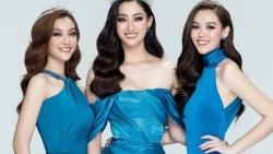 Cuộc đọ sắc 'một chín một mười' của Hoa hậu Lương Thùy Linh và 2 Á hậu