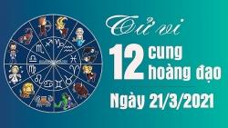 Tử vi 12 cung hoàng đạo Chủ nhật 21/3/2021: Xử Nữ thăng hoa trong công việc, Nhân Mã nhiều vệ tinh vây quanh