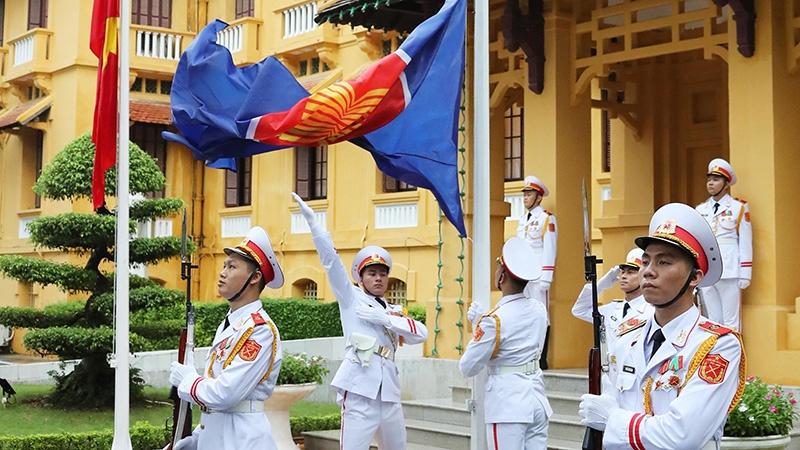 Lễ thượng cờ ASEAN và Ngày gia đình ASEAN 2021