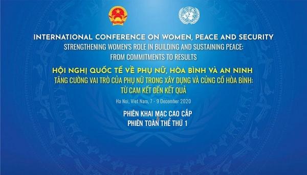 [TRỰC TUYẾN] Hội nghị quốc tế về Phụ nữ, hòa bình và an ninh